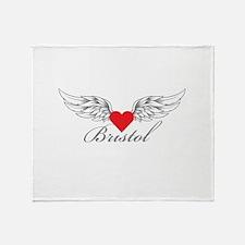Angel Wings Bristol Throw Blanket