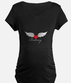 Angel Wings Britney Maternity T-Shirt