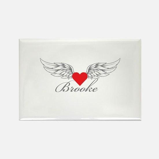 Angel Wings Brooke Magnets