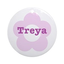 Treya - Personalized Ornament (Round)