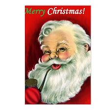 Vintage Santa Claus  Postcards (Package of 8)