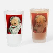 Vintage Santa Claus  Drinking Glass