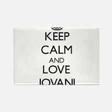 Keep Calm and Love Jovani Magnets