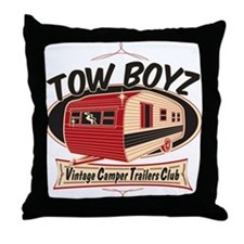 Tow Boyz Throw Pillow