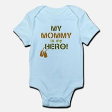 Dog Tag Hero Mommy Infant Bodysuit
