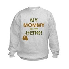 Dog Tag Hero Mommy Sweatshirt