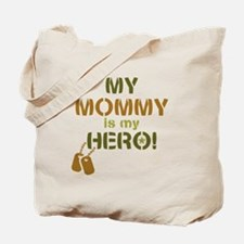 Dog Tag Hero Mommy Tote Bag