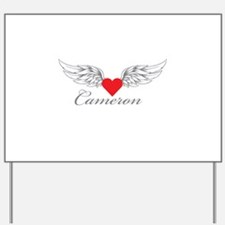 Angel Wings Cameron Yard Sign