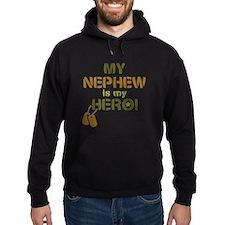 Dog Tag Hero Nephew Hoodie