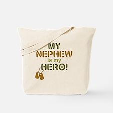 Dog Tag Hero Nephew Tote Bag