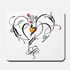 Heart of gold Mousepad