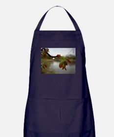 Red Maple Seed Pods Apron (dark)