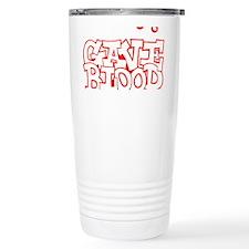 gave_blood_reverse_black_shirts Travel Mug