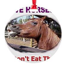 donteathorses1 Ornament