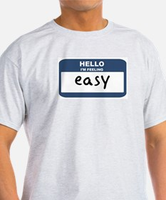 Feeling easy Ash Grey T-Shirt