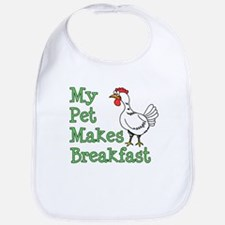 Pet Makes Breakfast Bib