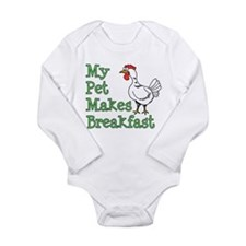 Pet Makes Breakfast Body Suit