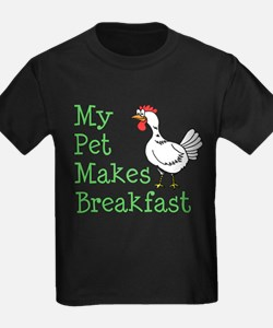 Pet Makes Breakfast T-Shirt