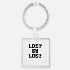 Lost In Lost Square Keychain