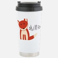 Sly Lil Fox Stainless Steel Travel Mug