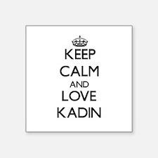 Keep Calm and Love Kadin Sticker