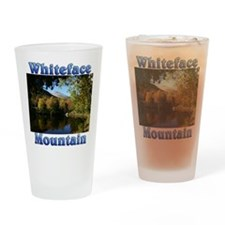 Whiteface P Throw pillow Drinking Glass