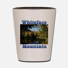 Whiteface P Throw pillow Shot Glass