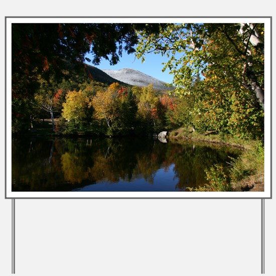 Whiteface P mini poster Yard Sign