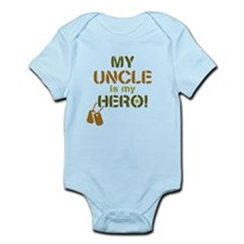 Dog Tag Hero Uncle Infant Bodysuit