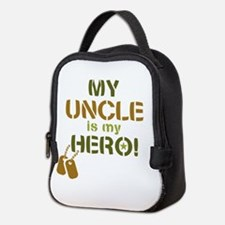 Dog Tag Hero Uncle Neoprene Lunch Bag