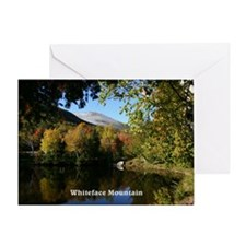 Whiteface P postcard Greeting Card