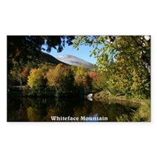 Whiteface P postcard Decal