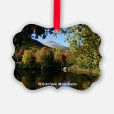 Whiteface P postcard Ornament