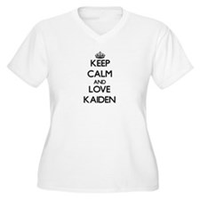Keep Calm and Love Kaiden Plus Size T-Shirt