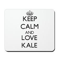 Keep Calm and Love Kale Mousepad