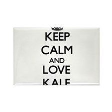 Keep Calm and Love Kale Magnets