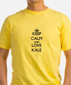 Keep Calm and Love Kale T-Shirt