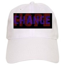 Hope Change black sticker Baseball Cap