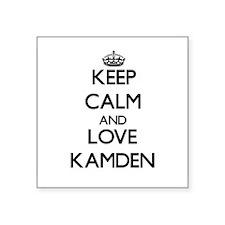 Keep Calm and Love Kamden Sticker