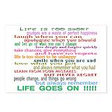 12 step slogans Postcards
