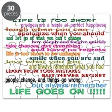 LIFE GOES ON Puzzle