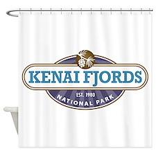 Kenai Fjords National Park Shower Curtain