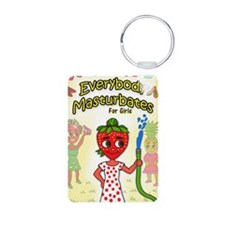 Everybody M for Girls book Keychains