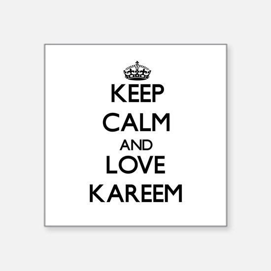 Keep Calm and Love Kareem Sticker