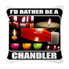 IdRatherBeAChandler Woven Throw Pillow