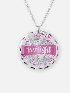 twilight pink wreath 2 copy Necklace