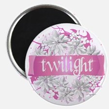 twilight pink wreath 2 copy Magnet