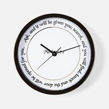 Open the Door to Opportunity Wall Clock
