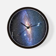 M31 andromeda galaxy hubble Ipad case Wall Clock