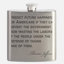 Jefferson-(future-happiness)-white-shirt Flask